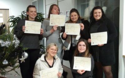 BTS ESF : remise des diplômes